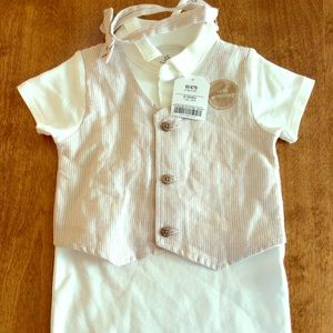 Other - Baby One-piece with bow tie
